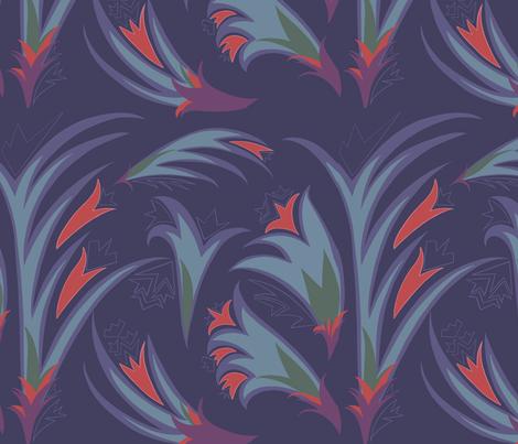Florida Palms fabric by redfoxburrow on Spoonflower - custom fabric