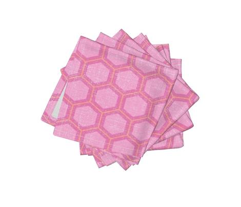 honeycomb - sweet pink