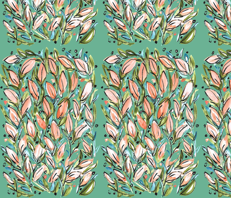 Tulip Garden fabric by heather_powers on Spoonflower - custom fabric
