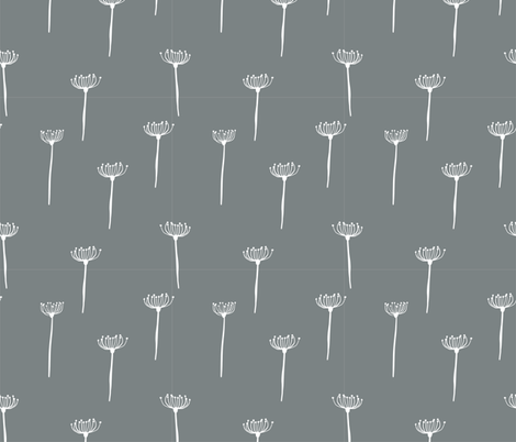long grass grey fabric by meissa on Spoonflower - custom fabric