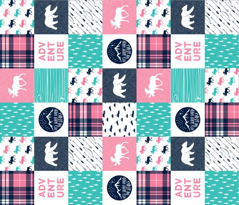 Rr5910774_rr11_new_teal_pink_white_moose_on_navy-01_shop_preview
