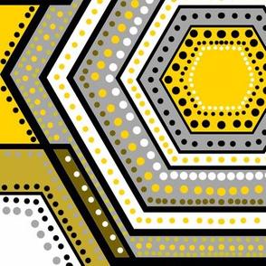 Hexadoodle hexagons geometric