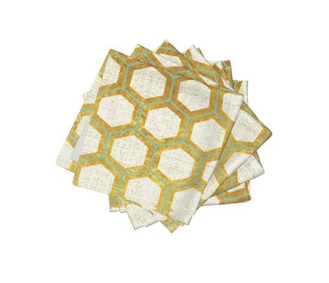 honeycomb - gold