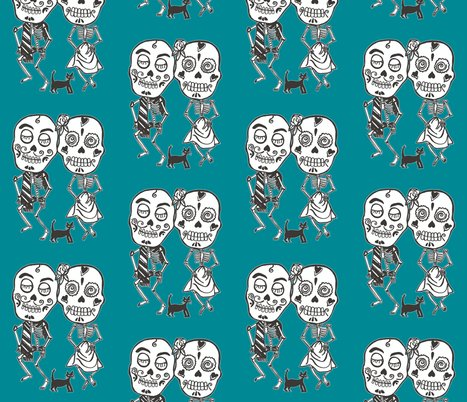 Rflat_single_bw_5x7_teal_lined_shop_preview