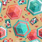 Hexagon to the Beach