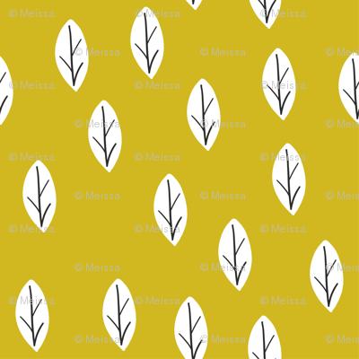 leafs mustard