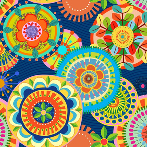 Folk Mandalas_(blue background)