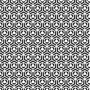 optical hexagons