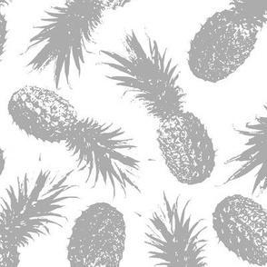 Pineapples Gray