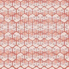 hexagon water color