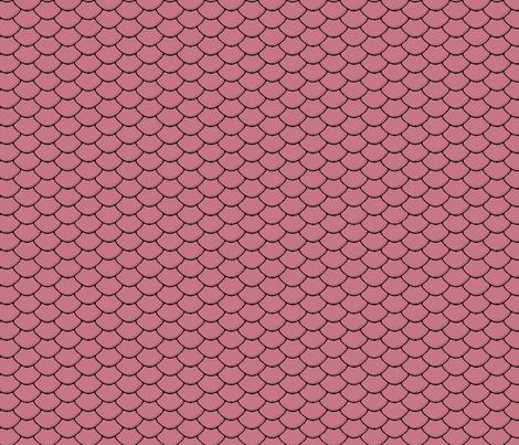 Scales Pink Mauve fabric by purplish on Spoonflower - custom fabric