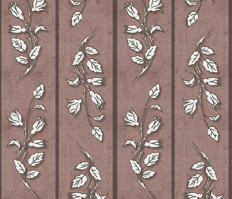 Paper Rose fabric by jabiroo on Spoonflower - custom fabric