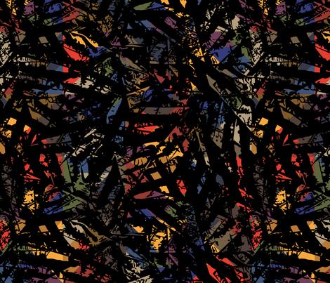 Street Shadows fabric by mariafaithgarcia on Spoonflower - custom fabric