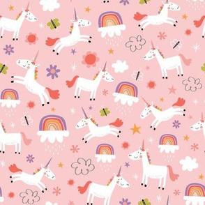 Happy Unicorns pink