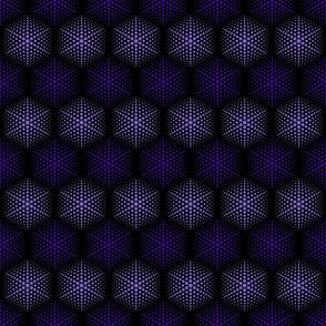 Purple Hexa Dots