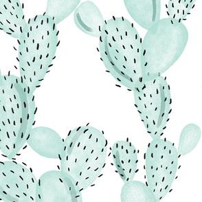 aqua paddle cactus // oversized