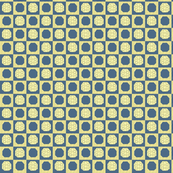 blue and yellow hexigrid