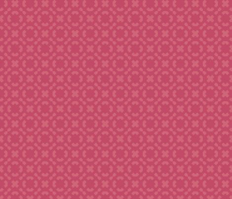 melon on geranium fabric by twigsandblossoms on Spoonflower - custom fabric