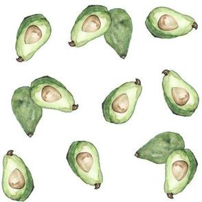 Avocado // Fruit // Whimsical // Cheery