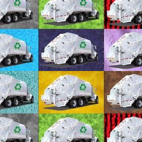 Multi Garbage Trucks