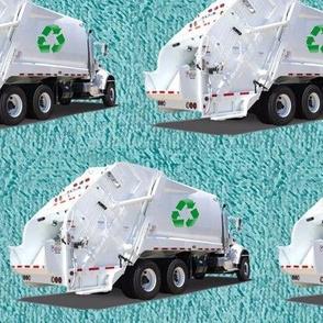 Aqua Garbage Truck