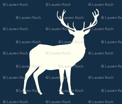 deer Hike// Ivory on Mandy Navy