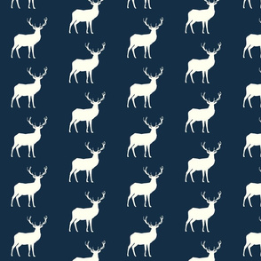deer Hike// Ivory on Mandy Navy
