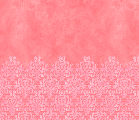 Pink Damask Sleeves fabric by piper_&_paige on Spoonflower - custom fabric