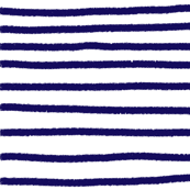 Sketchy Stripes // Navy