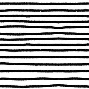 Sketchy Stripes // Black