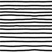 Sketchy Stripes // Black