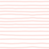 Sketchy Stripes // Light Peachy Pink
