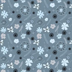 Blue_grey_Tossed Floral