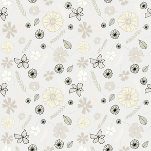 Creamy Whites_Tossed Floral