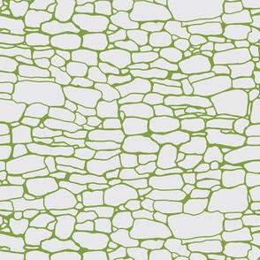 Stonewalls gray and green