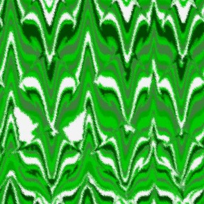 Marbleized Fox Camouflaged Green