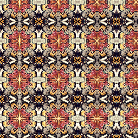 Plumagery 3 fabric by hypersphere on Spoonflower - custom fabric