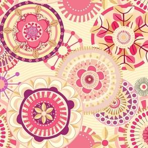 Folk Mandalas_vintage_pink_