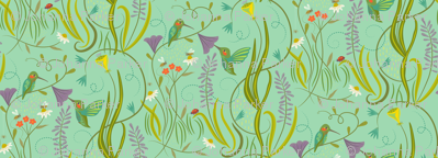 Hummingbirds_on_Sea_Foam_Green
