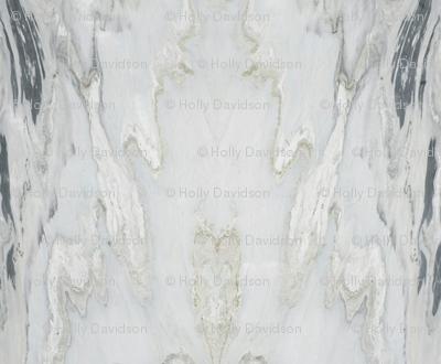White Grey Marble Stripe