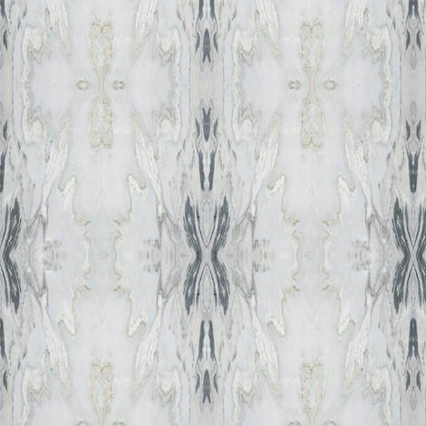 White Grey Marble Stripe fabric by hollydavidson on Spoonflower - custom fabric