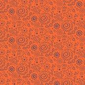 Rwild_floral_doodle_lilac_on_orange_final_150dpi_shop_thumb