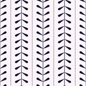 VINES | Pale Pink + Navy Blue