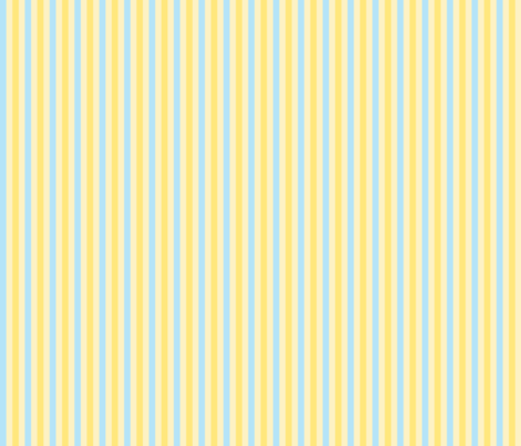 Blue Lemon Stripes fabric by bags29 on Spoonflower - custom fabric