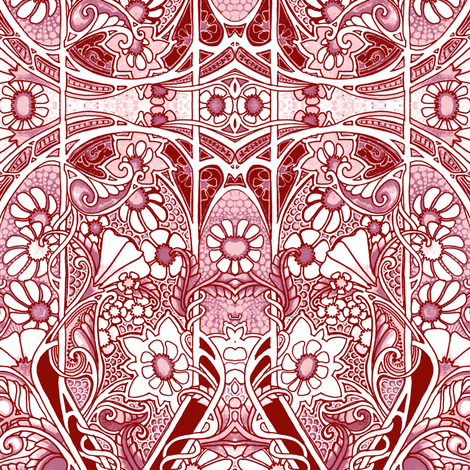 Garden For the Red States fabric by edsel2084 on Spoonflower - custom fabric