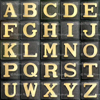Anagram Alphabet - large