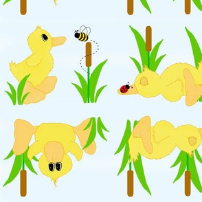Spring Duckling Baby Nursery