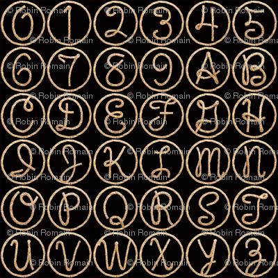Lasso Alphabet - small