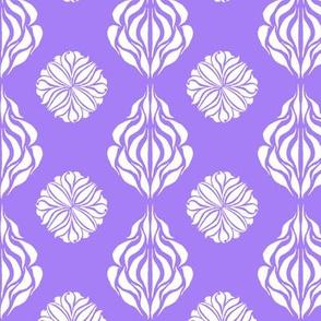 SINGAPORE FLORAL  Violet