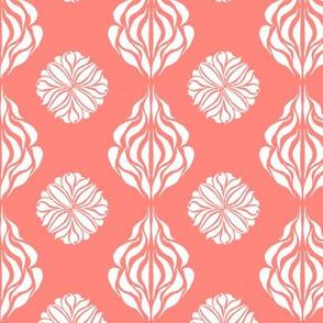 SINGAPORE FLORAL Soft Peach